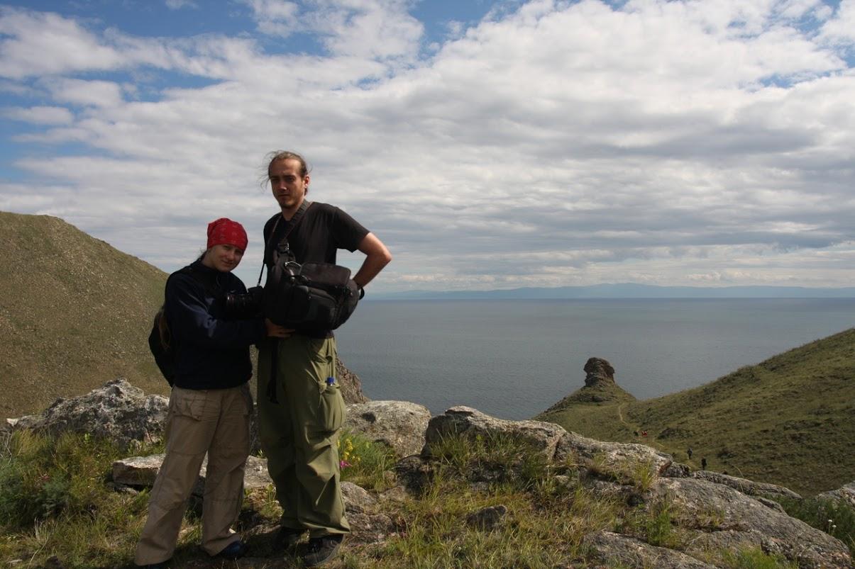 Podróż Koleją Transsyberyjską: Wyspa Olchon najeziorze Bajkał, Syberia, Rosja (2008)