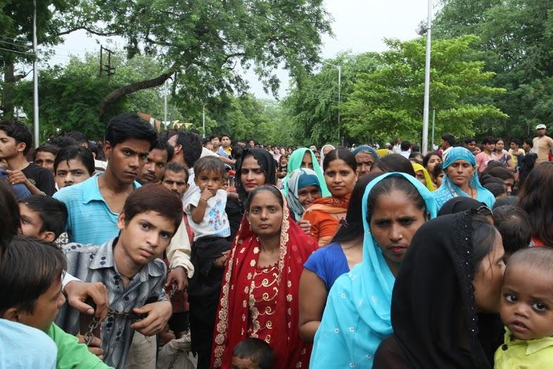 Indie: zdjęć kilka - Agra Taj Mahal during Royal Festival III