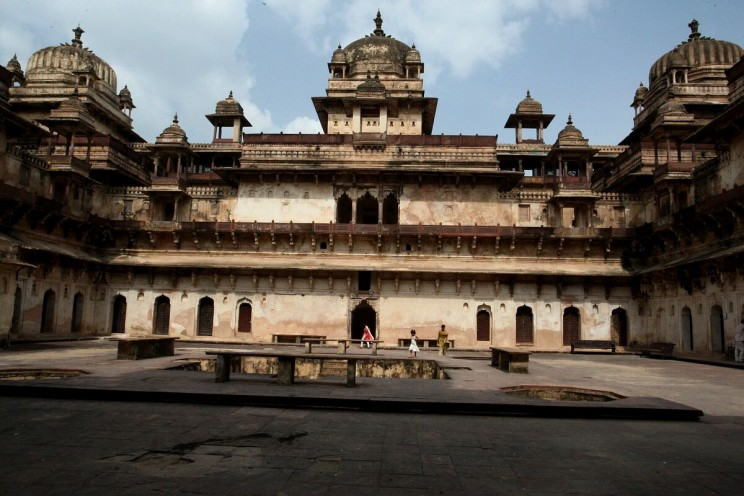 Mogolski pałac Jahangir Mahal wOrchha