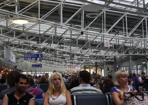 Lotnisko Borispol (Boryspil) wKijowie
