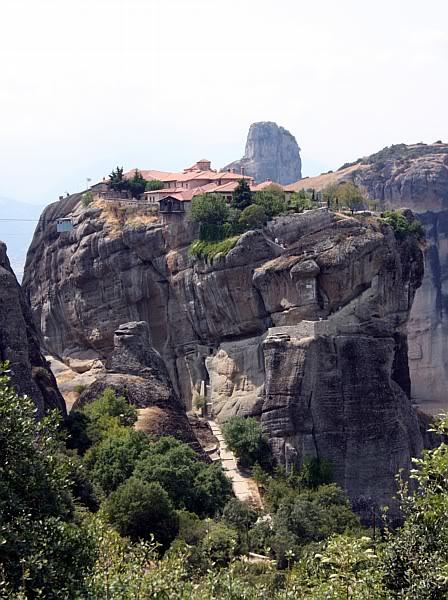 Monastyr Świętej Trójcy (Ajias Triados), Meteory, Grecja