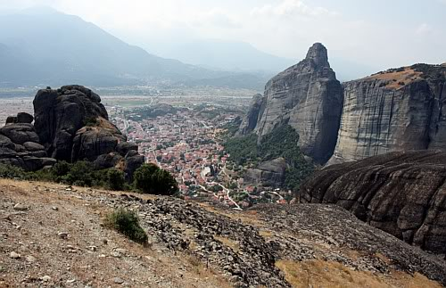 Kalambaka, Meteory, Grecja