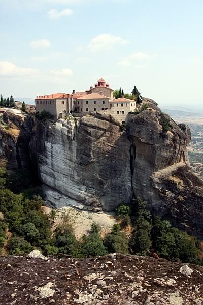 Monastyr Świętego Stefana (Ajos Stefanos), Meteory, Grecja (Greckie Meteory)