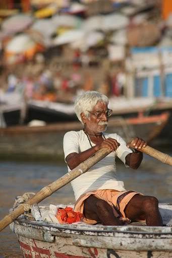 Ganga, Varanasi, Indie Północne