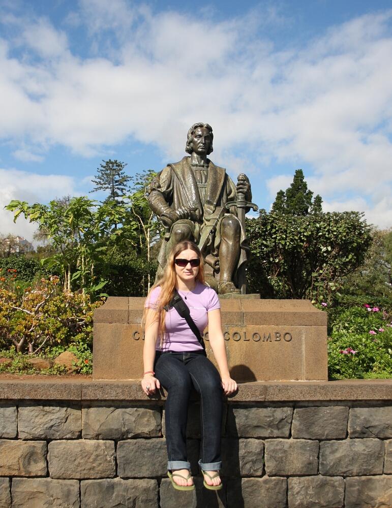 Funchal Madera Madeira Colombo Columbus Krzysztof Kolumb