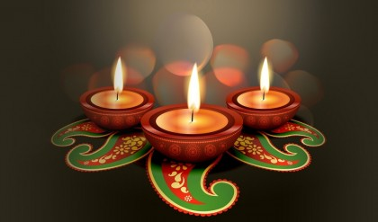 Diwali - niechaj Lakszmi zagości również wwaszych domach!