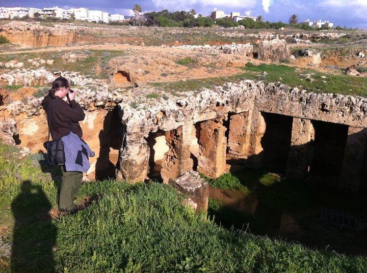 Cypr Pafos - grobowce
