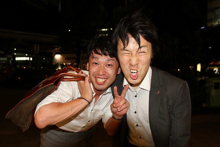 Japanese drunk people!