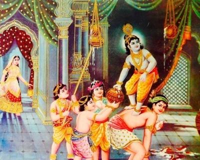 Krishna Janmashtami - urodziny Kryszny