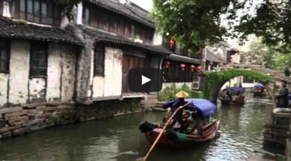 Szanghaj iZhouzhuang: wideo pocztówki zChin