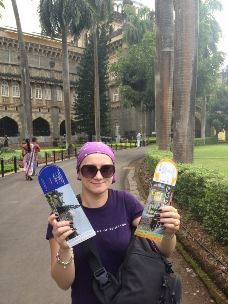 Wchodzimy doMuzeum Księcia Walii, Mumbai, Indie