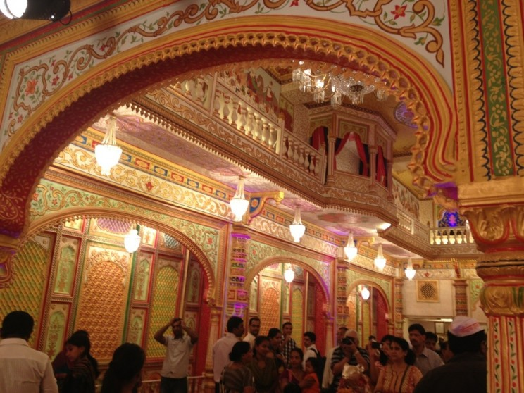 Replica of interior of temple in Amritsar - Mumbai