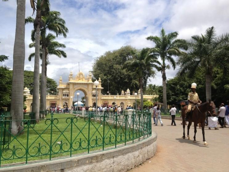 Pałac wMajsurze, Karnataka, Indie Południowe