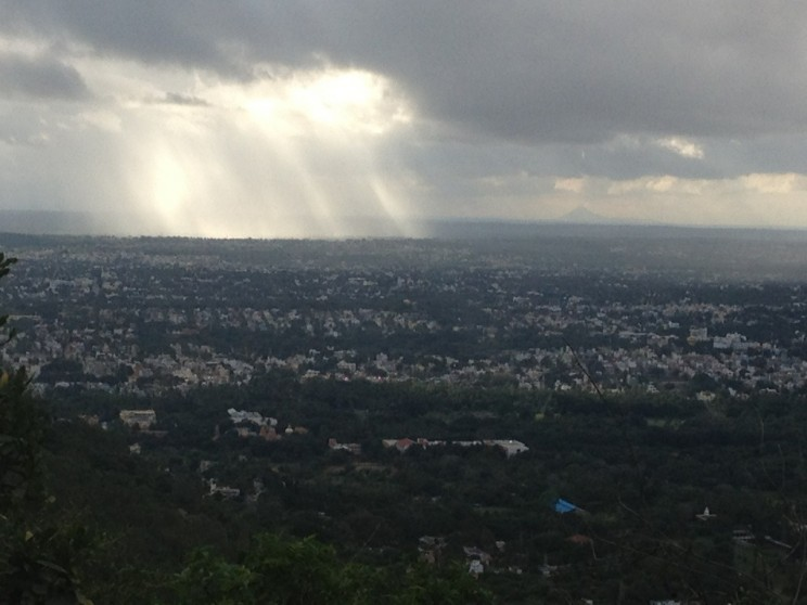 Mysore, monsoon rain