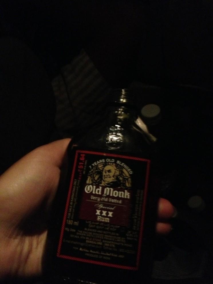 "Rum ""Old Monk"" (czyli ""Stary Mnich"")"