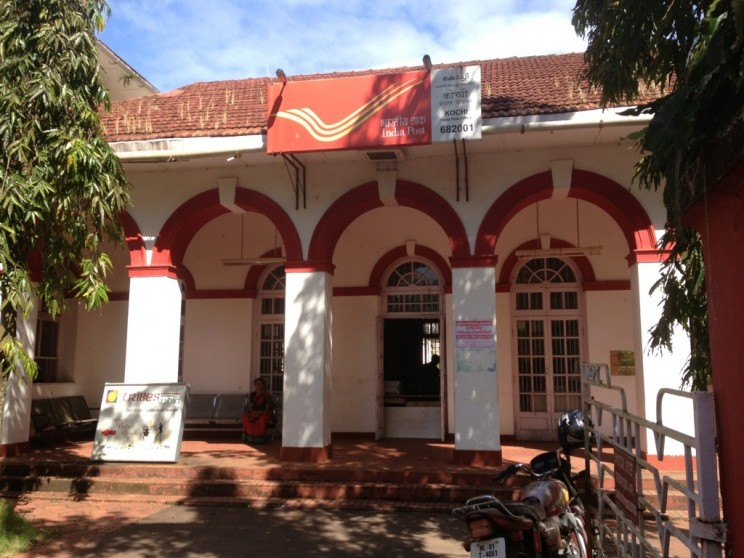 Post Office in Fort Kochin (Kochi), Kerala