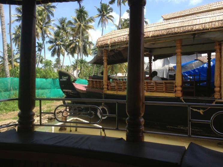 Alappuzha - Allepey - Backwaters cruise - jak wyglądaja łodzie