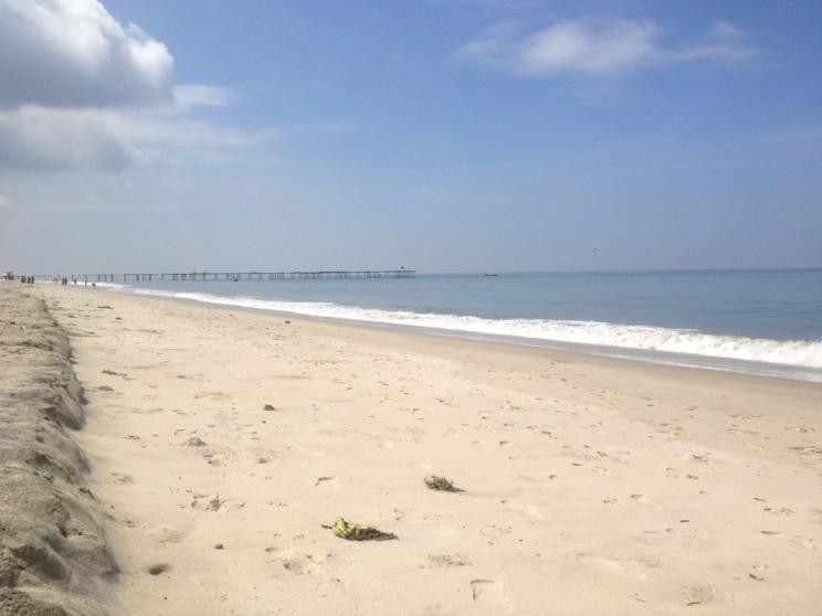 Alleppey Beach (Alappuzha), Kerala, Indie