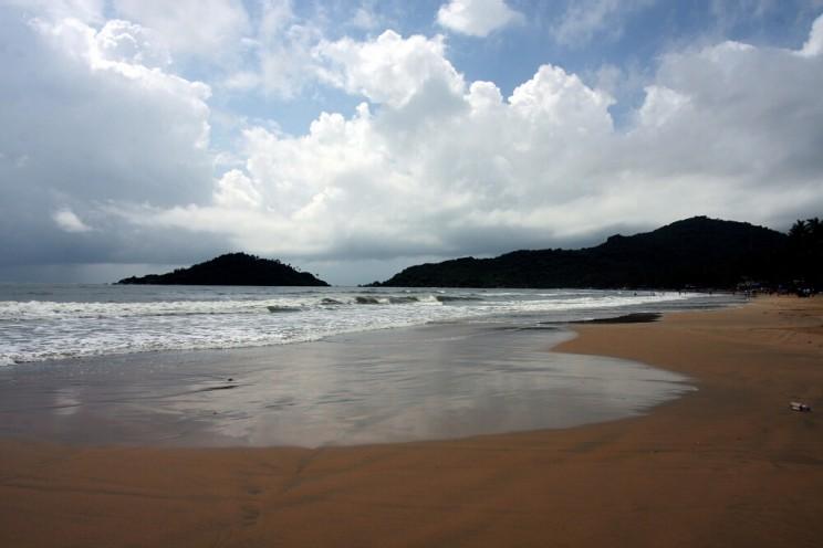 Ciekawe miejsca wIndiach południowych: Palolem Beach, Goa