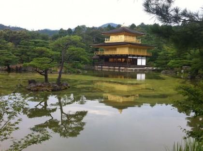 Ciekawe miejsca wJaponii: Złota Świątynia Kinkaku-ji (Kioto)