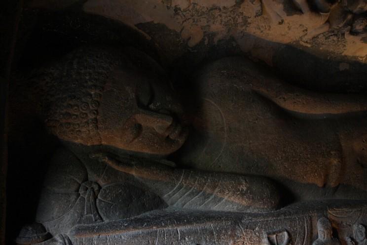 Ciekawe miejsca wIndiach południowych: Ajanta Caves, Maharashtra