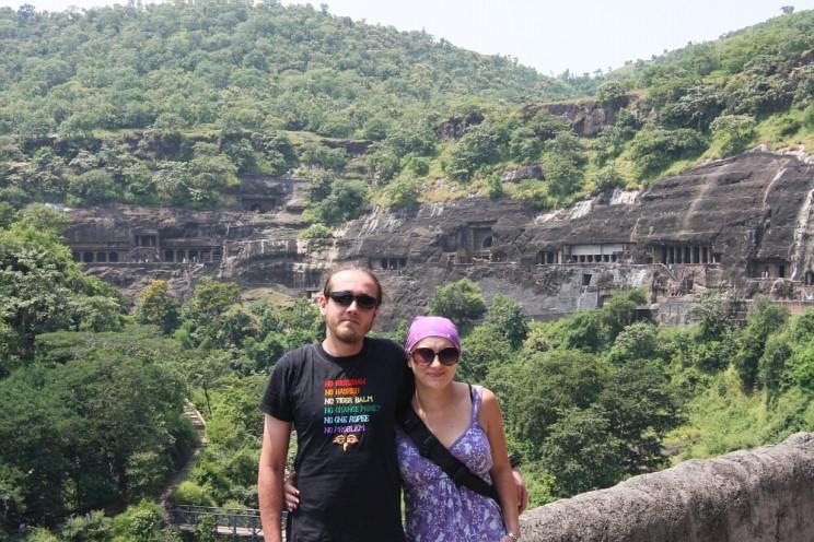 Ciekawe miejsca wIndiach południowych: zespół 30 grot zeświątyniami buddyjskimi ihinduistycznymi wAdźancie (Ajanta)
