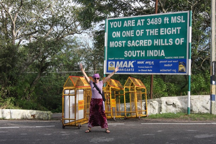 Ciekawe miejsca wIndiach południowych: Chamundi Hill, Majsur (Mysore), Karnataka