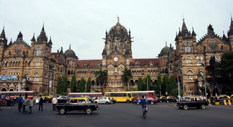 Ciekawe miejsca wIndiach południowych: dawny Dworzec Wiktorii - Chhatrapati Shivaji Terminus