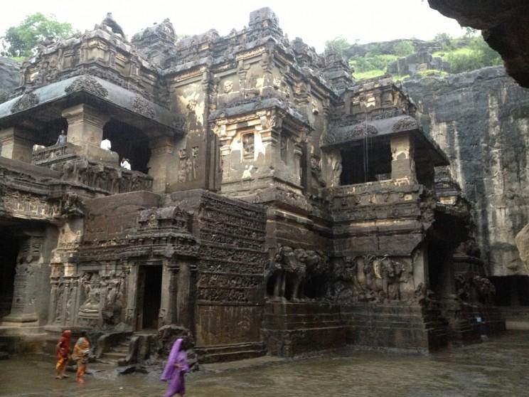 Ciekawe miejsca wIndiach południowych: Ellora, Maharashtra