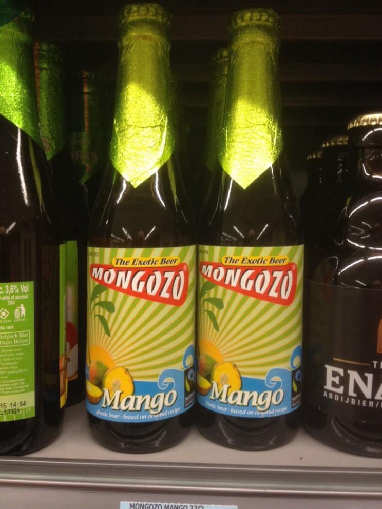 Mongozo - ciekawe belgijskie piwo osmaku mango (bardzo słodkie)