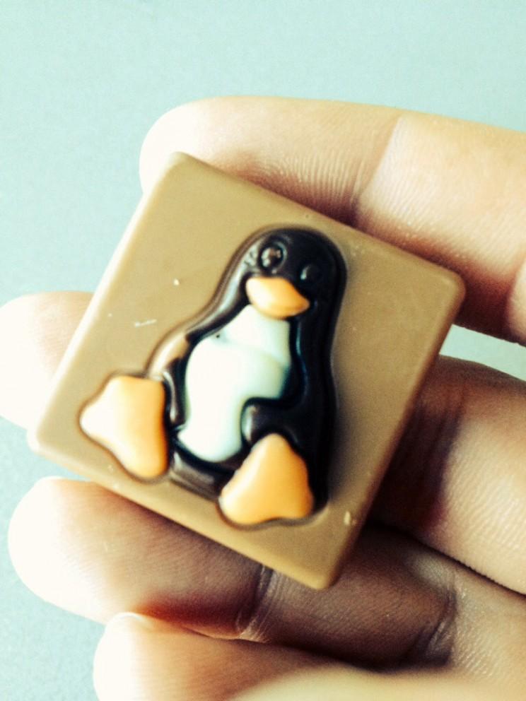 Belgijska czekolada Belgian chocolate Linux
