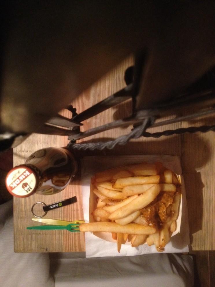 Najprawdziwsze belgijskie frytki wBrukseli