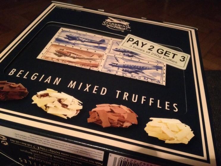 Przedmioty niezbędne wpodróży: czekolada - Belgijskie trufle