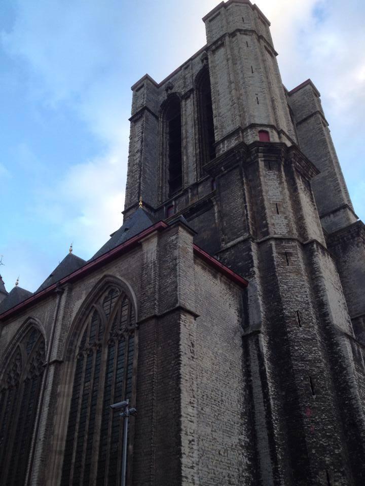 Średniowieczne Gent, czyli Gandawa, Belgia