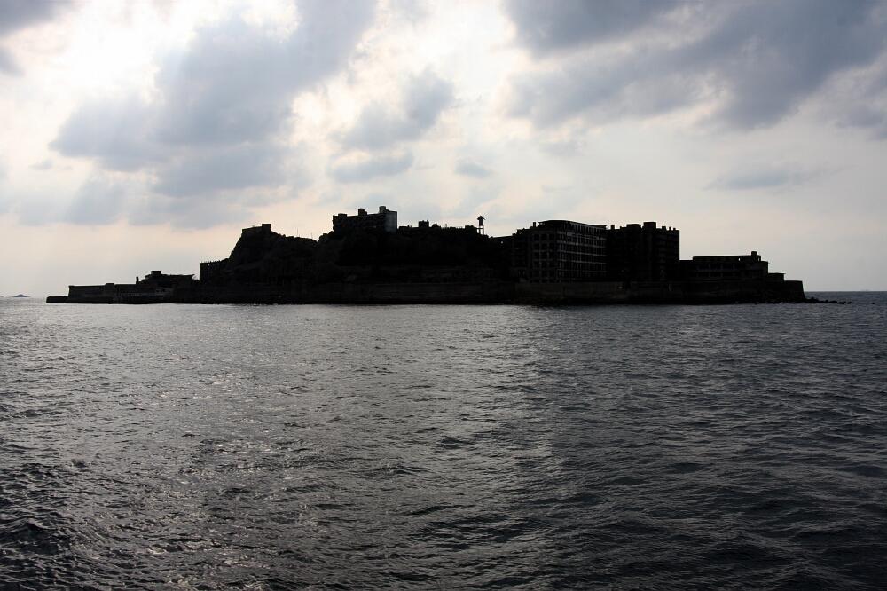 Ciekawe miejsca wJaponii: wyspa Hashima - Gunkanjima, prefektura Nagasaki
