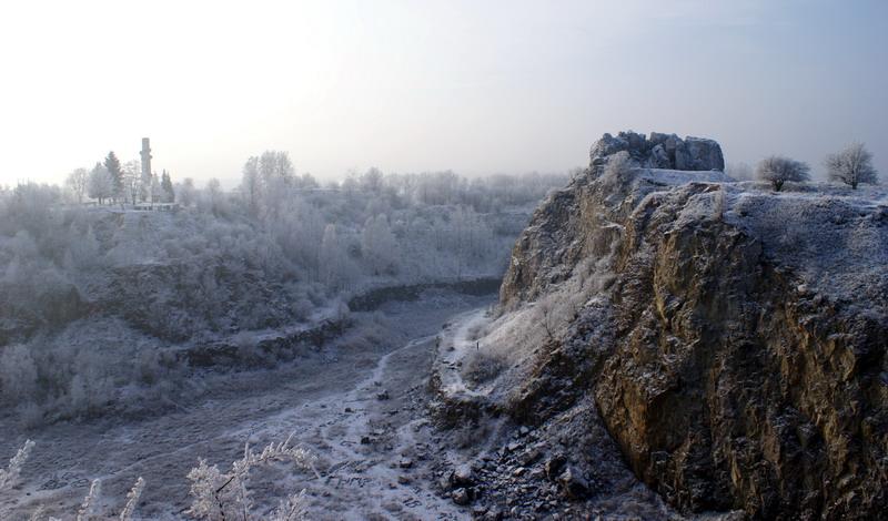 Rezerwat przyrody nieożywionej Kadzielnia, Kielce, 2008