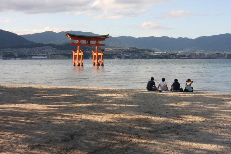 Miyajima Floating Torii IMG_9185 A