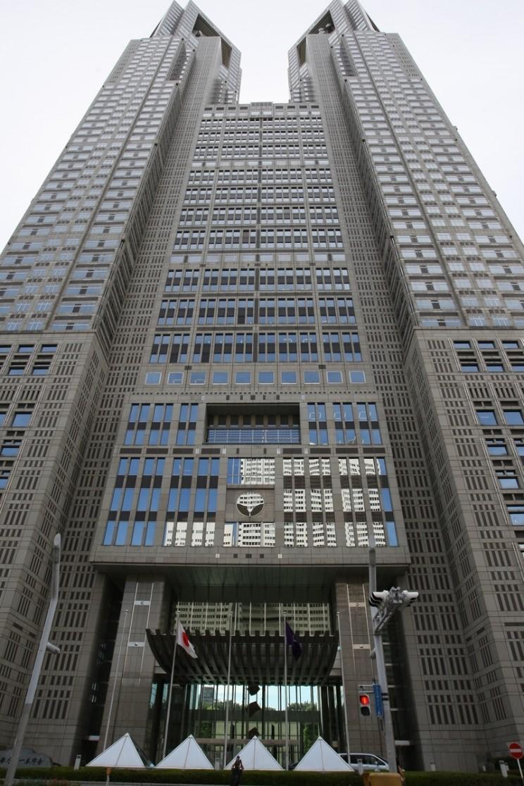 Tokyo Shinjuku 03 Government Building K Shinjuku - część zachodnia