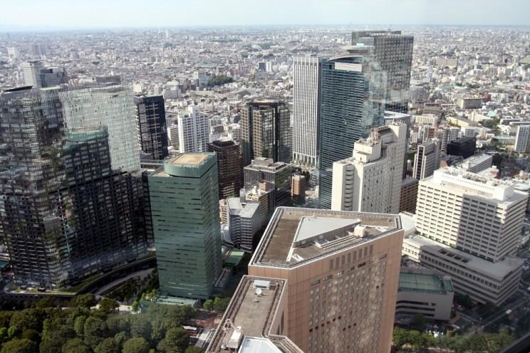 Tokyo Shinjuku 05 Government Building AShinjuku - część zachodnia
