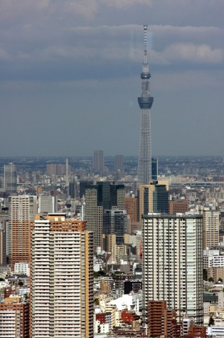 Tokyo Shinjuku GMT Government Building ATokyo Skytree