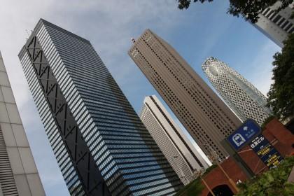 Shinjuku - część zachodnia