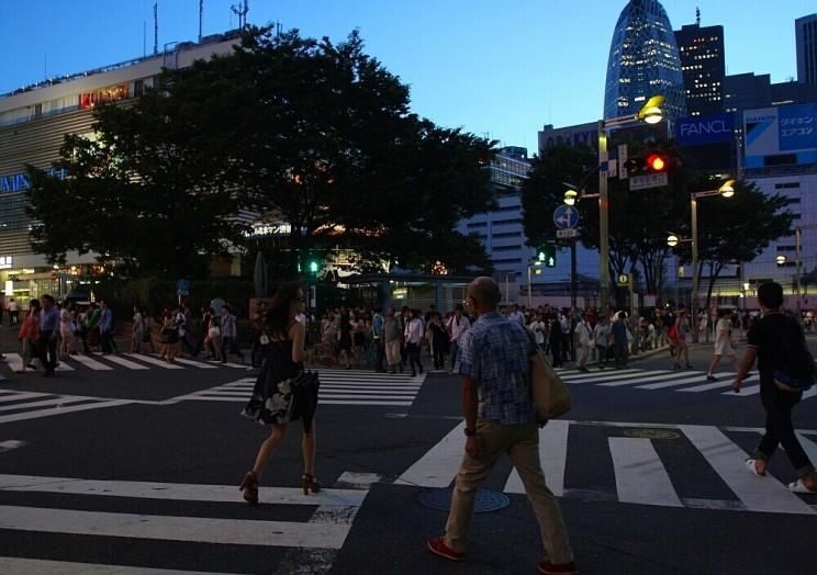Tokyo Shinjuku Crossing 01