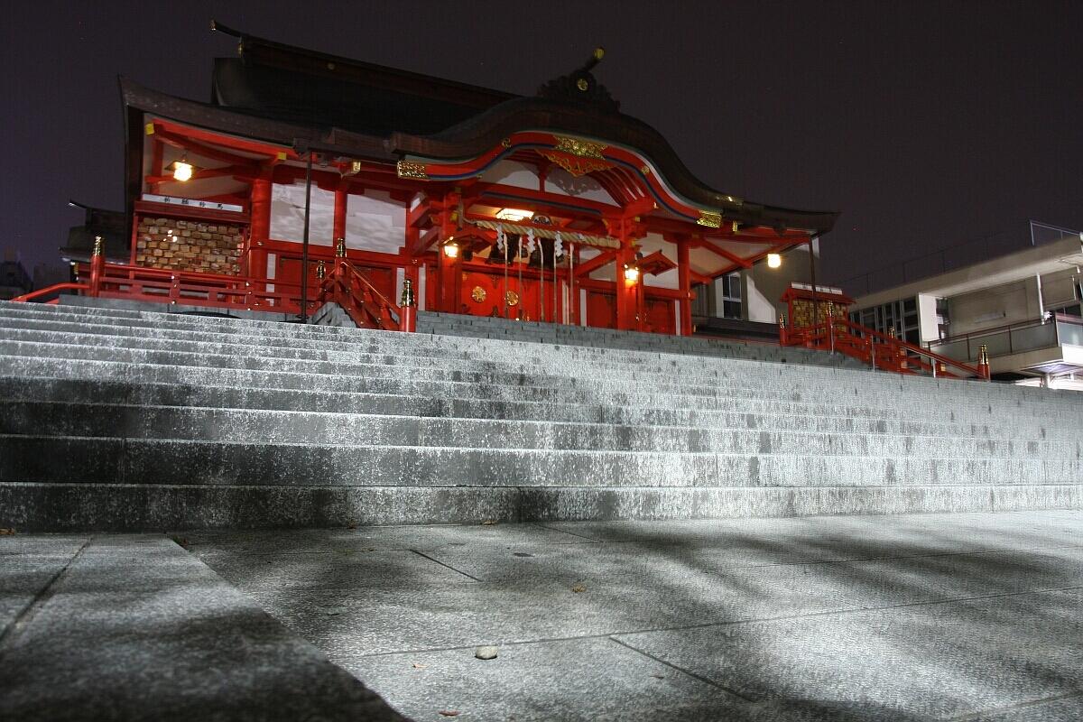 Ciekawe miejsca wJaponii: świątynia Hanazono-jinja (Tokio)