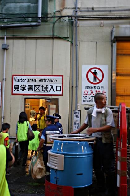 Targ rybny Tsukiji w Tokio (Tsukiji-shijō - 築地市場)