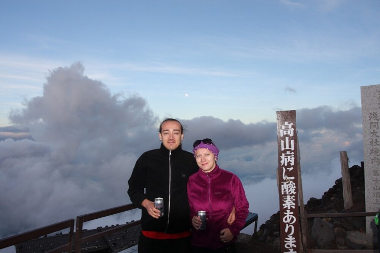 Wspinaczka nagórę Fuji: schronisko Tomoe-kan
