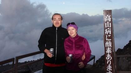 Podróż doJaponii: wspinaczka nagórę Fuji (cz.1)