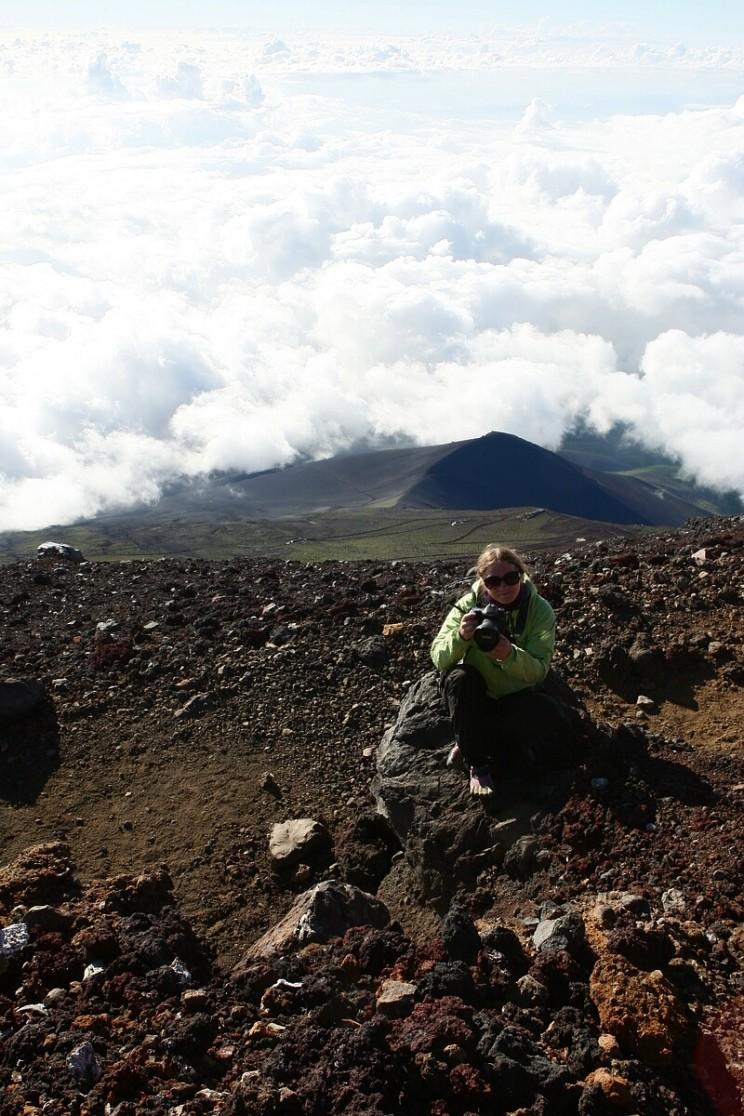 Wspinaczka nagórę Fuji
