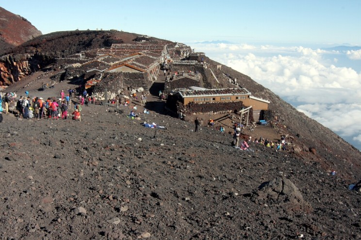 Wspinaczka nagórę Fuji - 10. baza