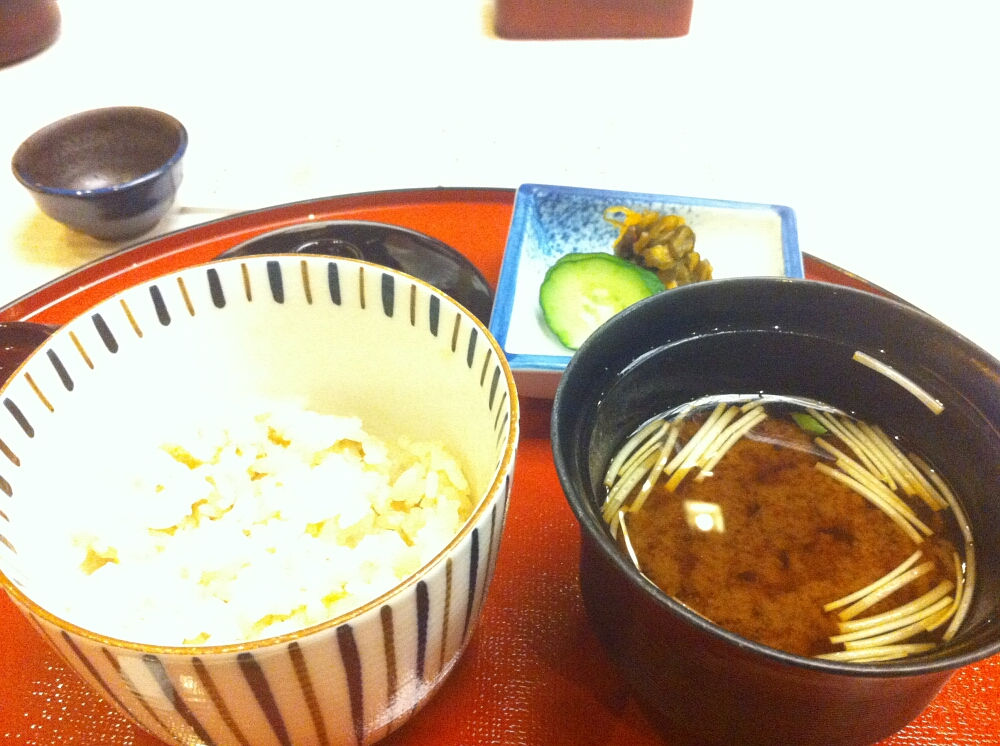 Miso shiru - zupa miso