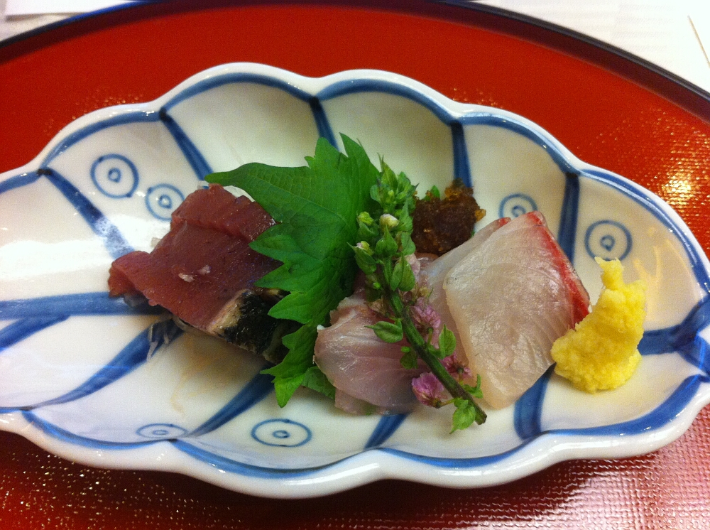 Japoński tradycyjny posiłek #1